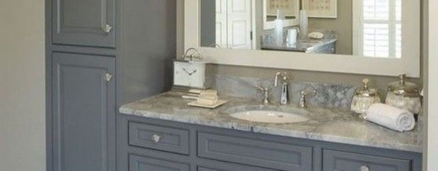 Inspiring Bathroom Vanity With Tower Ideas