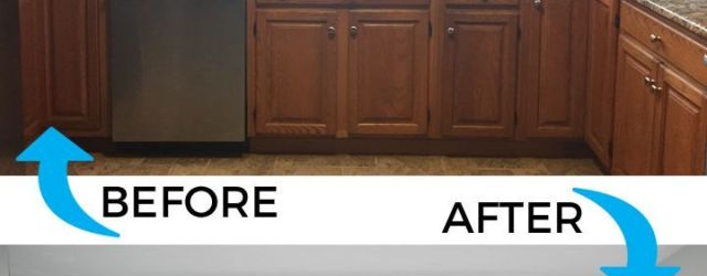 Inspiring Updating Oak Kitchen Cabinets Before And After Ideas