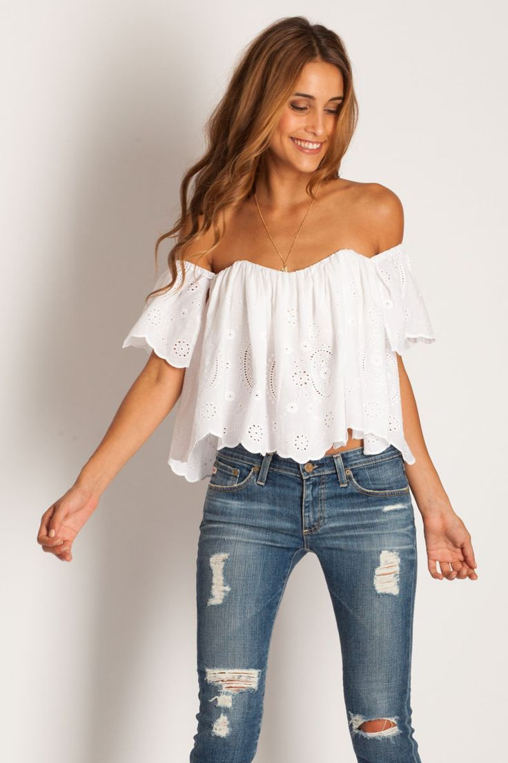 How to Wear the MustHave OffShoulder Top This SpringSummer 2017  Trendelier