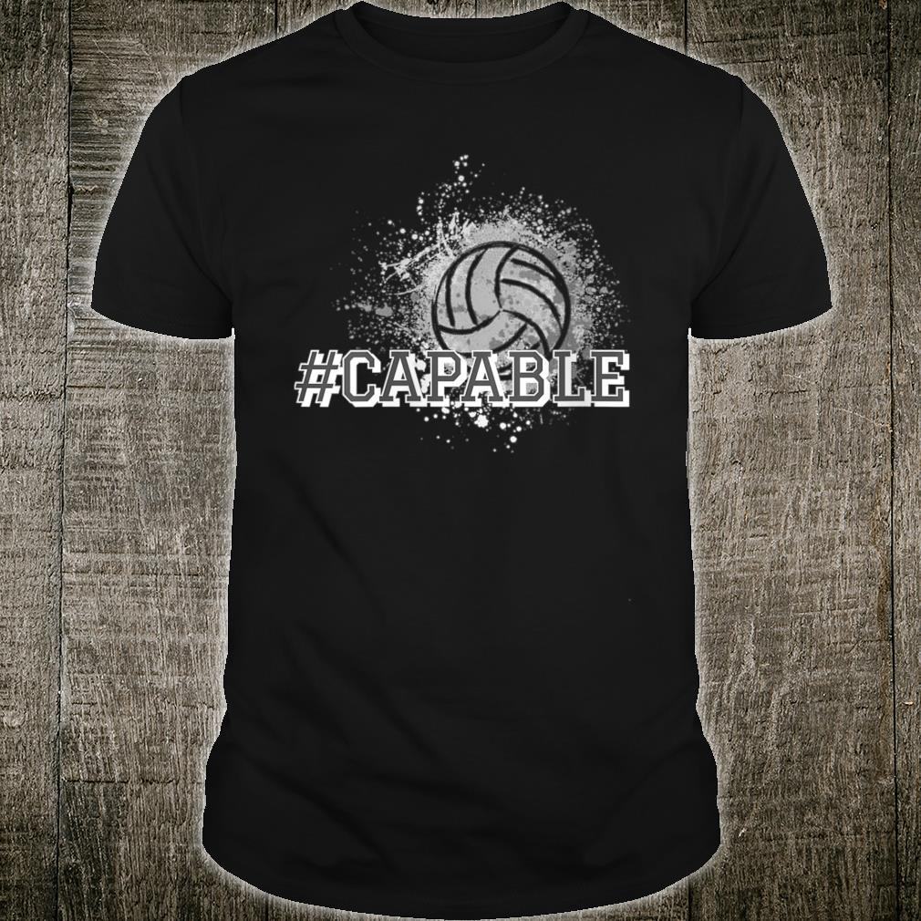 #Capable Volleyball Shirt