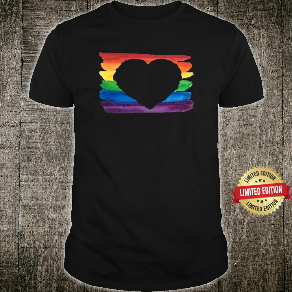 Love Is Love We Are The Colors Of The Rainbow Shirt
