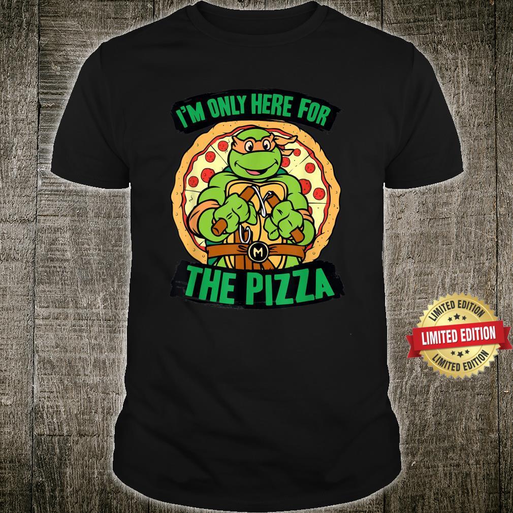 Teenage Mutant Ninja Turtles Here for Pizza Shirt