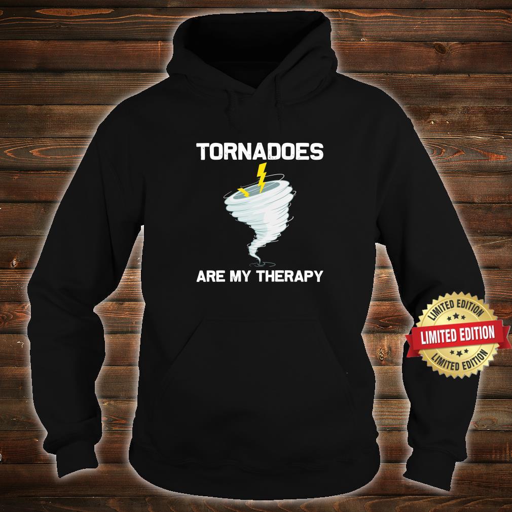 Tornado Hurricane Weather Chaser Shirt hoodie