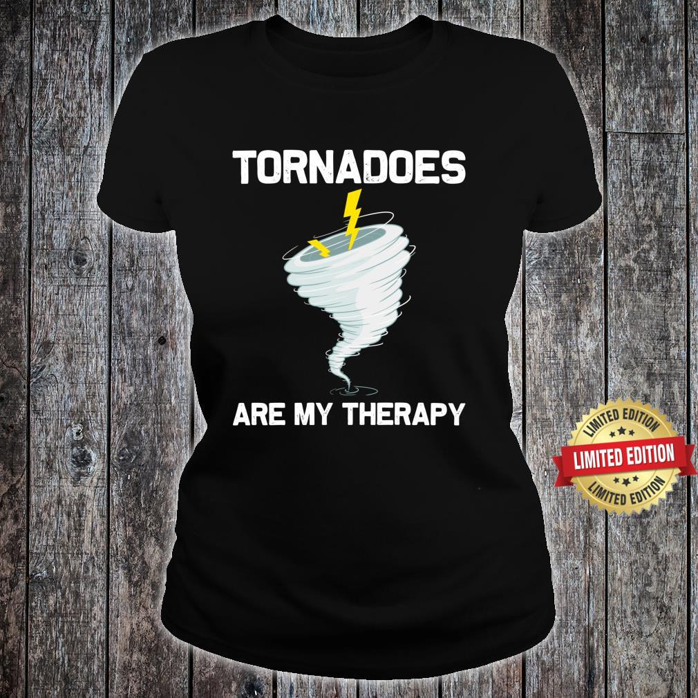 Tornado Hurricane Weather Chaser Shirt ladies tee