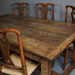 Oak Farmhouse Chairs Modern Orange Leather Dining Chair 18thc Table Trendfirst