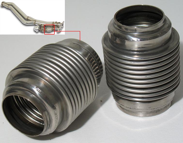 Universal Weldable Type 46mm 46 mm Wastegate Flex Dump