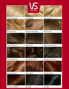 also vidal sassoon hair color chart rh trendhaircolor