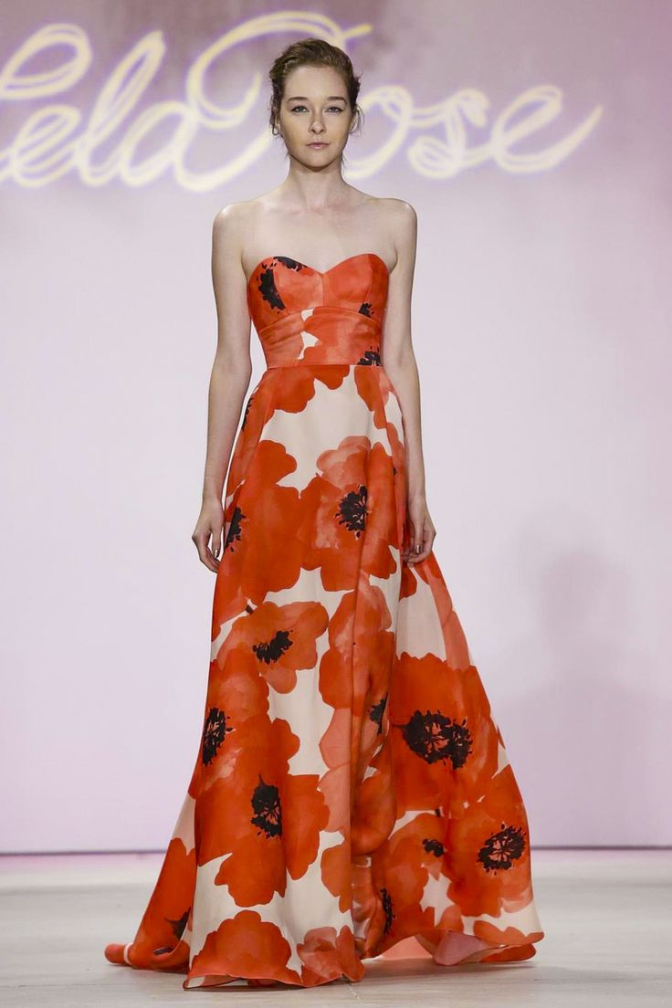 Lela Rose Fashion Show Ready to Wear Collection Spring Summer 2016 in New York