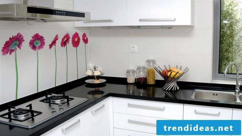 19 Tendentious Concepts For Kitchen Glass Rear Wall