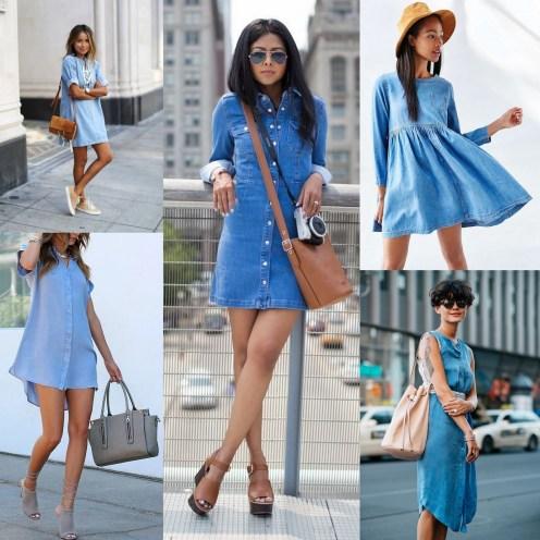 Denim Dress Style