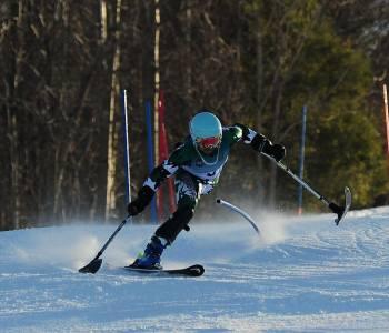 Pakistani Amputee Teen Has Amazing Skiing Skills And May Represent Pakistan In 2018 Paralympics