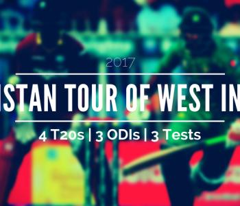 Complete Schedule of Pakistan vs West Indies 2017 Tour