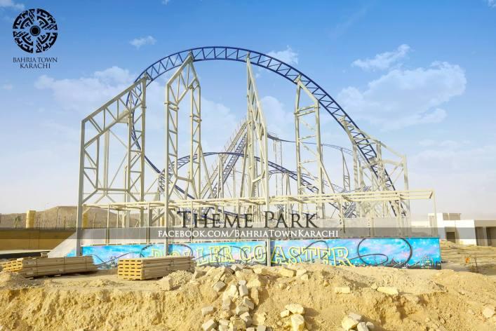 Zero Gravity Theme Park >> Bahria Town S Theme Park Under Construction Pictures Will Leave You