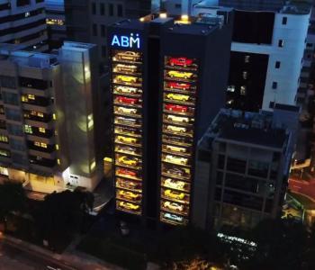 Singapore Has Just Opened This 15 Storey Tall Luxury Car Vending Machine
