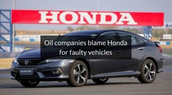 Pakistani oil companies threaten to sue Honda over fuel complaint