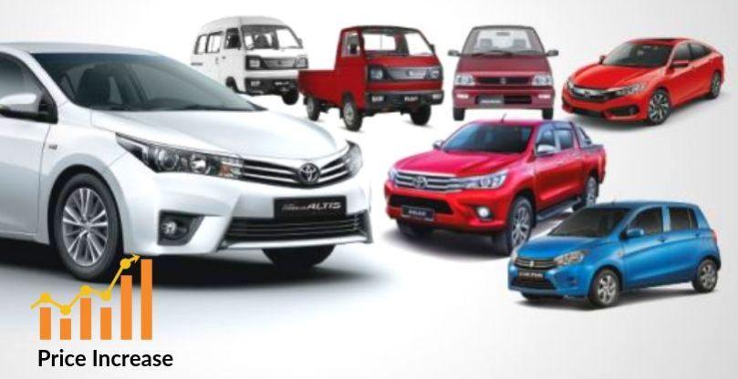 Honda Toyota Kia And Suzuki Increases Car Prices In Pakistan