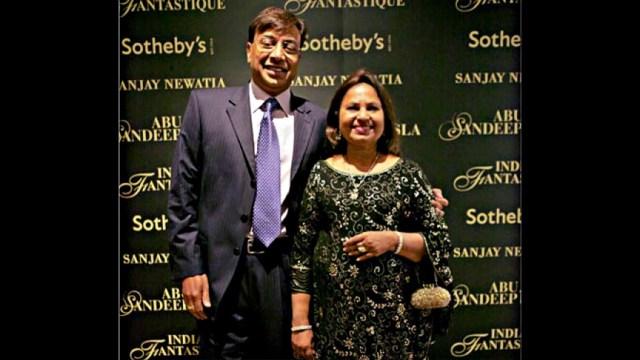 Lakshmi Mittal and Family