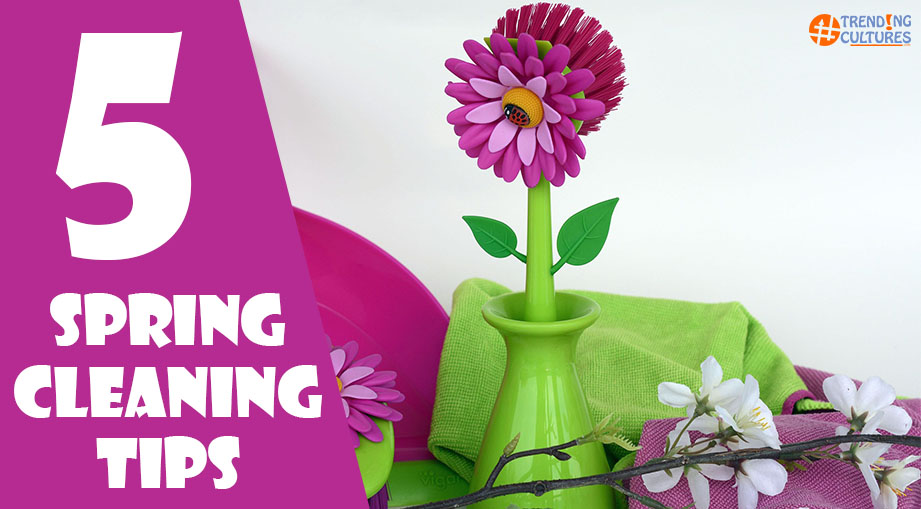 5 spring clean tips for busy people
