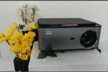 TONZO LS-418, 1080P Full HD, Android 9.0, 6800 Lumens Mini Home Cinema Projector photo review