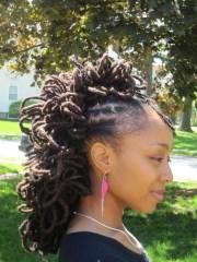 fake dreads and locks trending
