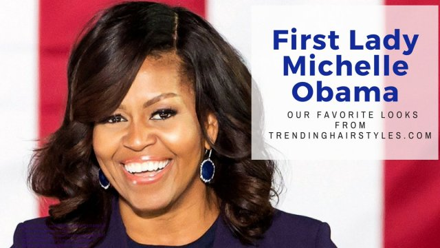 hair icon | our favorite michelle obama hairstyles