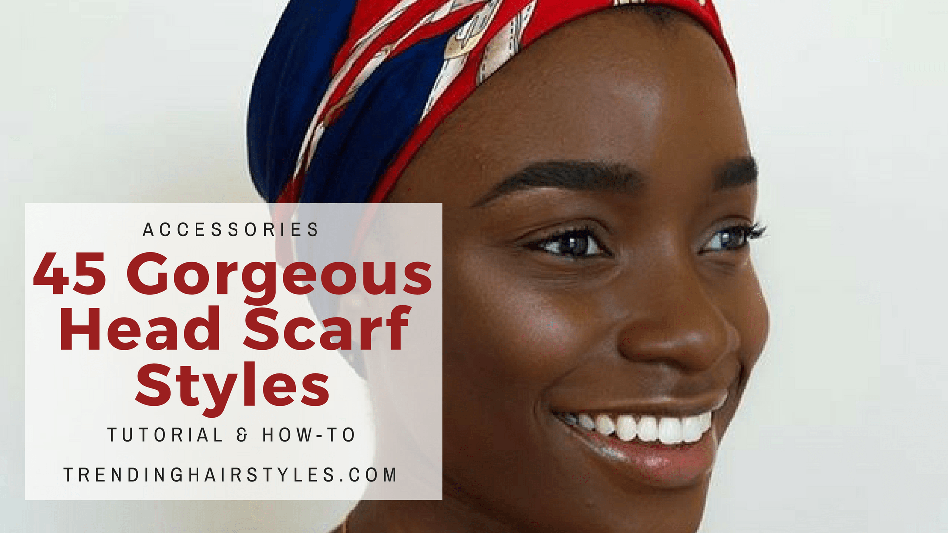 Head Scarf Styles For Black Women w Howto Video Tutorials
