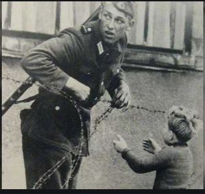 soldier who helped boy in german