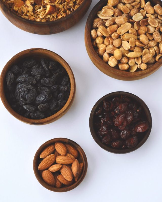 Nuts healthy food