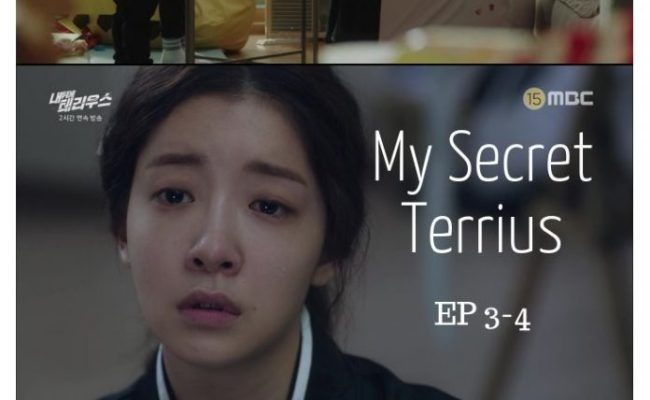 My Secret Terrius South Korea Fore Shadowing The