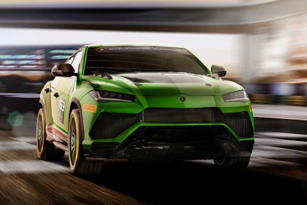 Lamborghini Urus ST-X Super SUV Concept The first Super SUV for Racing