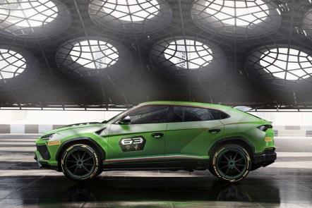 Lamborghini Urus ST-X Super SUV Concept The first Super SUV for Racing