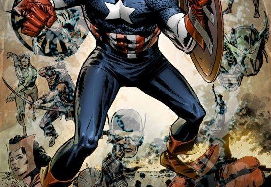 Captain America 600 Reprint
