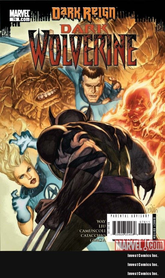 WOLVERINE DARK #76 1950S VARIANT EDITION COVER MARVEL COMICS