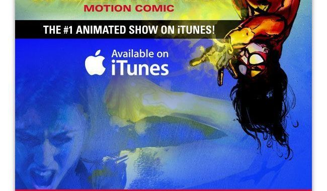 Groundbreaking Spider-Woman Motion Comic Debuts New Episode Today!