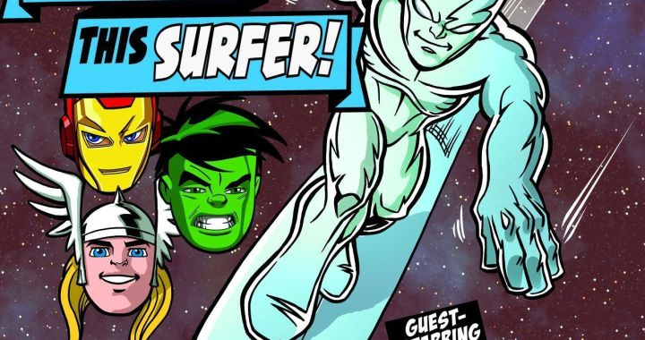 Surf(er)'s Up With The Super Hero Squad Show On Saturday Morning!