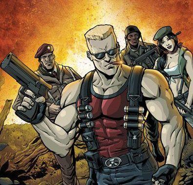 Duke Nukem Tears into Comics from IDW