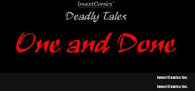 InvestComics' Deadly Tales: One and Done – Guidelines + Rules