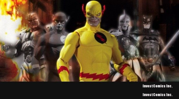 DC offers EXCLUSIVE REVERSE FLASH FIGURE AT SDCC