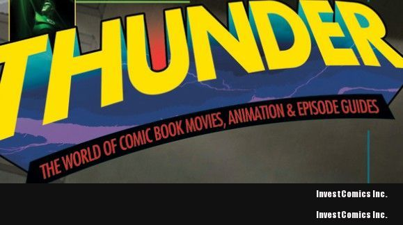 THUNDER! COMIC BOOK/ POP CULTURE MAGAZINE DEBUTS IN OCTOBER