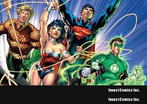 Standard final version of JUSTICE LEAGUE #1 cover revealed