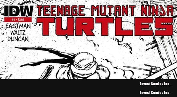 Debut Teenage Mutant Ninja Turtles Comic Sells Out