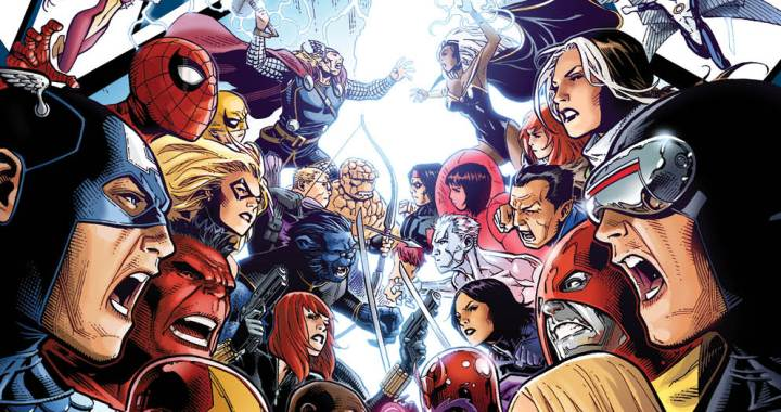 Marvel Unveils Cover To AVENGERS VS. X-MEN #1