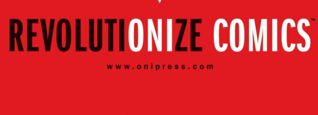 ONI PRESS UNVEILS NEW COMPANY LOGO