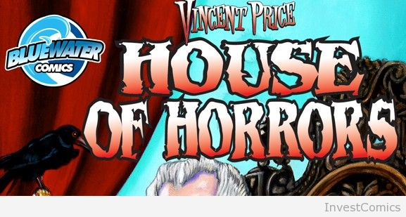 MASTER OF HORROR VINCENT PRICE'S NEW COMIC BOOK SERIES HAUNTS THIS MAY