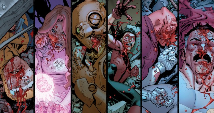 INVINCIBLE #98-100: THE DEATH OF EVERYONE!