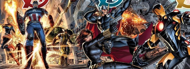 Marvel NOW! – Hickman & Opena's AVENGERS Covers Revealed!
