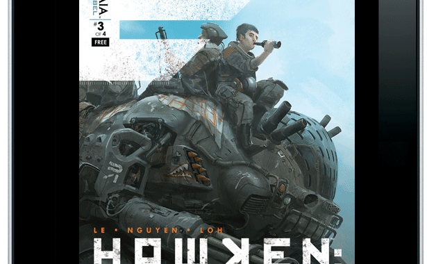HAWKEN GENESIS exclusively on ComixOlogy from Archaia