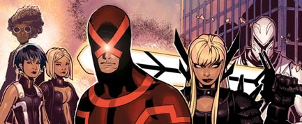 ONE OF THESE X-MEN IS A TRAITOR!