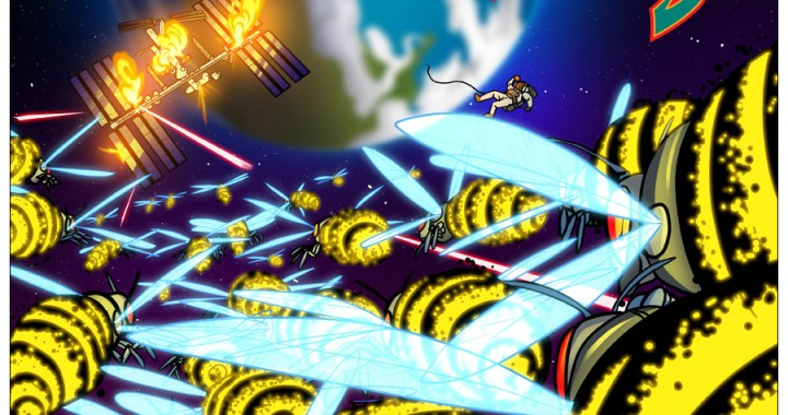 "Take a ""ShiftyLook"" at new GALAGA online comic."