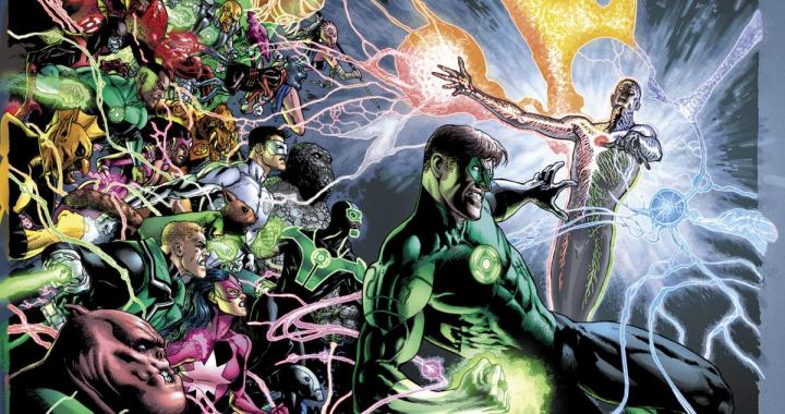 GEOFF JOHNS leaves GREEN LANTERN with issue #20